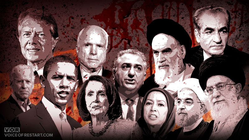 Who are anti-Israel and allies of the US Democrats in the past 100 years of Iran?!