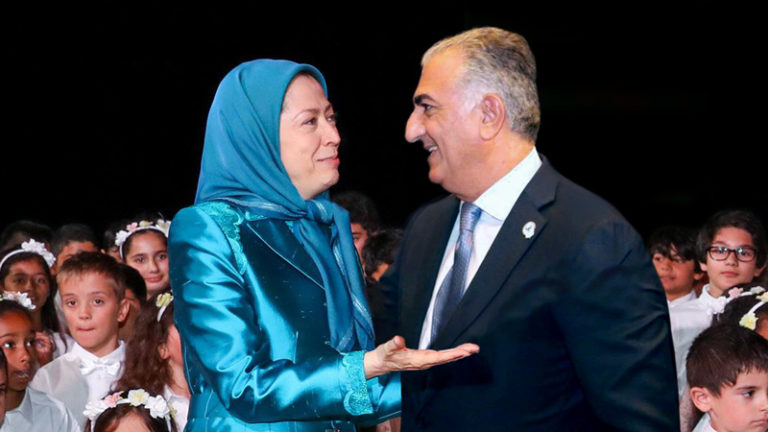 Reza Pahlavi and the MEK are Democrat and hate President Trump!
