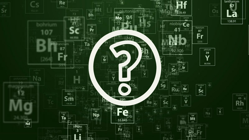 Who are you and where are you in the Mendeleev's table of this universe?!