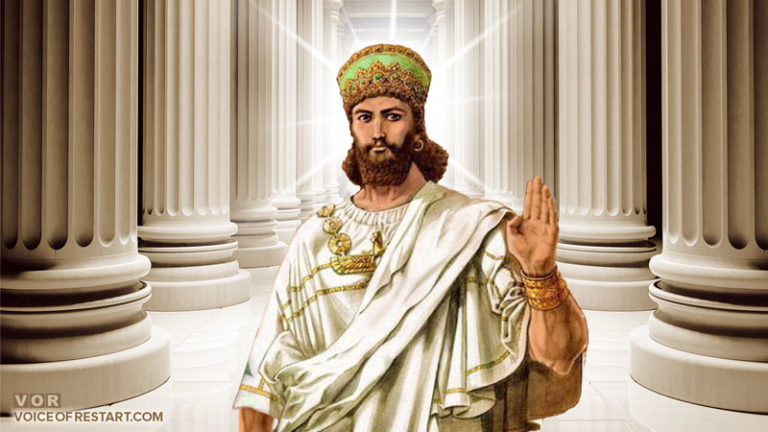 RESTART Leader's message to Israeli Ministry of Foreign Affairs on the day of Cyrus the Great