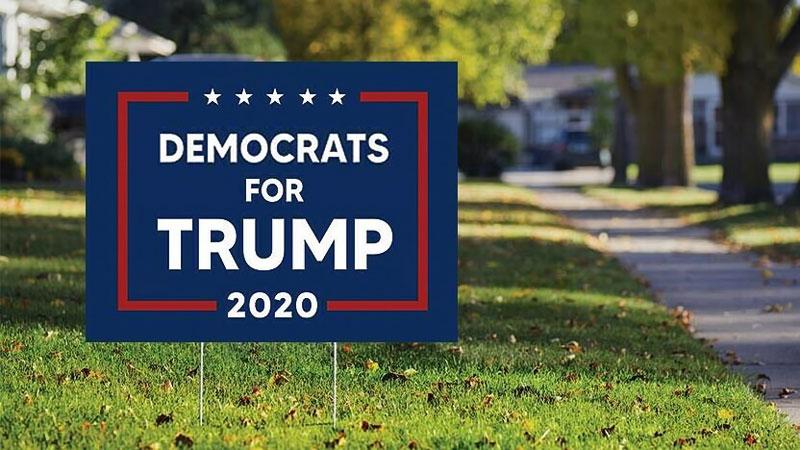 Patriotic Democrats vote for Trump
