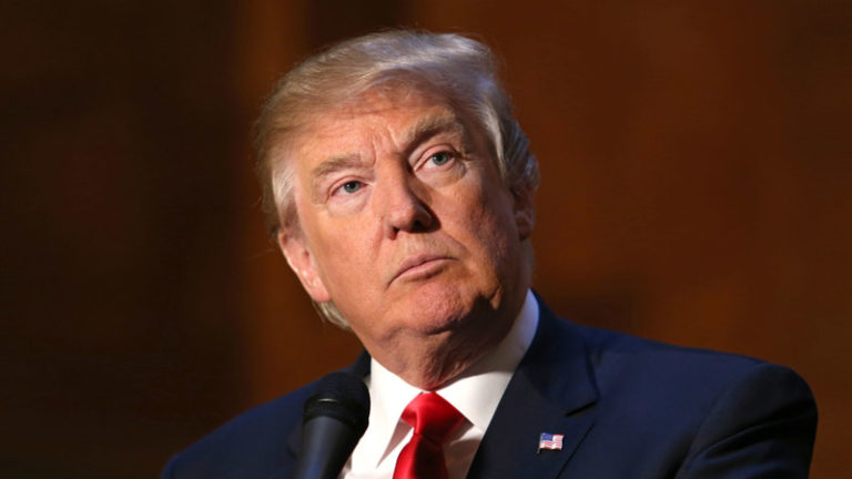 Donald John Trump is the 45th president of the United States of America