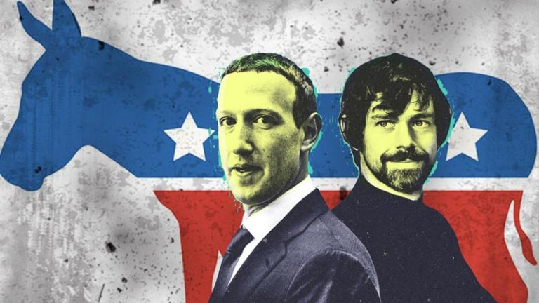 Jack Dorsey, Mark Zuckerberg and Democrats are in love with the Communists, terrorists and Radicals!