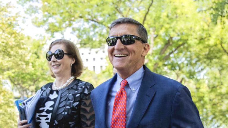 RESTART Leader sent a message of congratulations to General Flynn