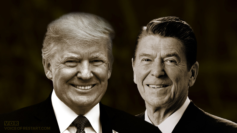 After Reagan, Trump is the only President of America!